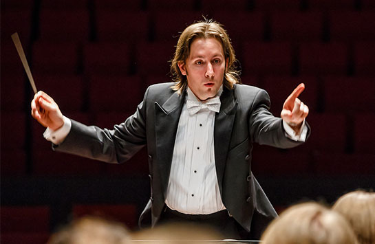 UIC orchestra conductor