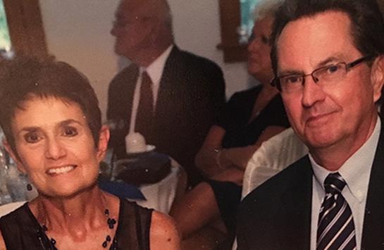 Yvonne Nowak and Richard Nowak BS '70