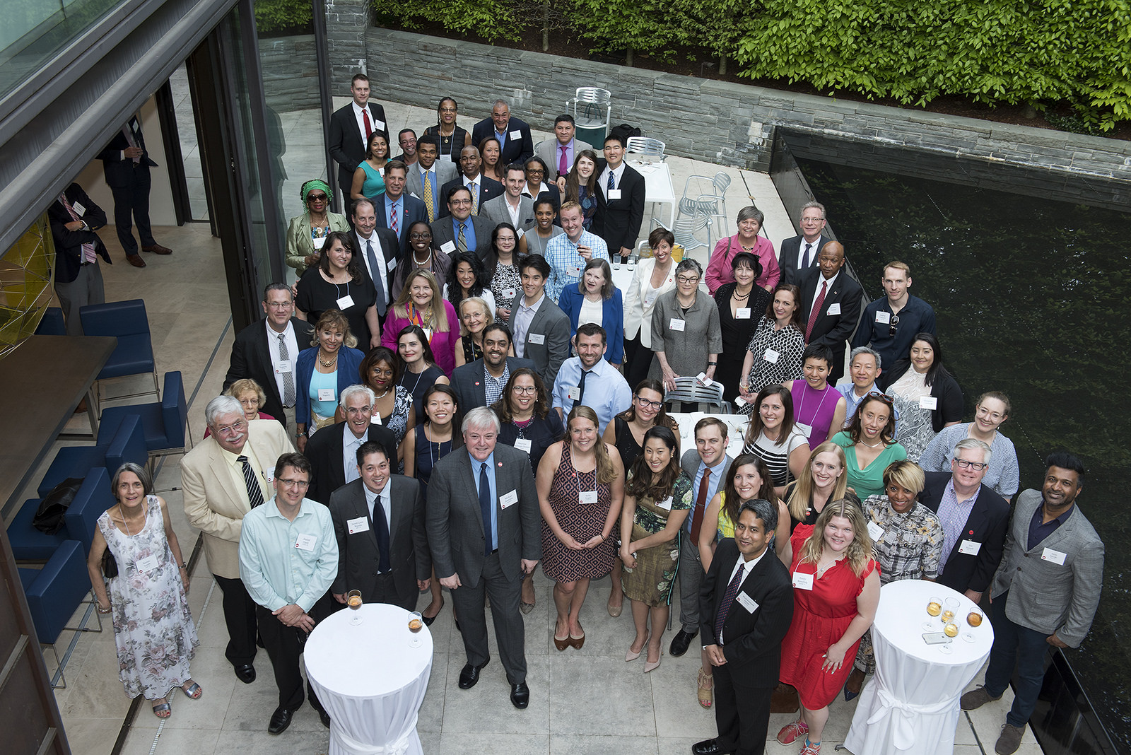 Group of alumni at event in DC