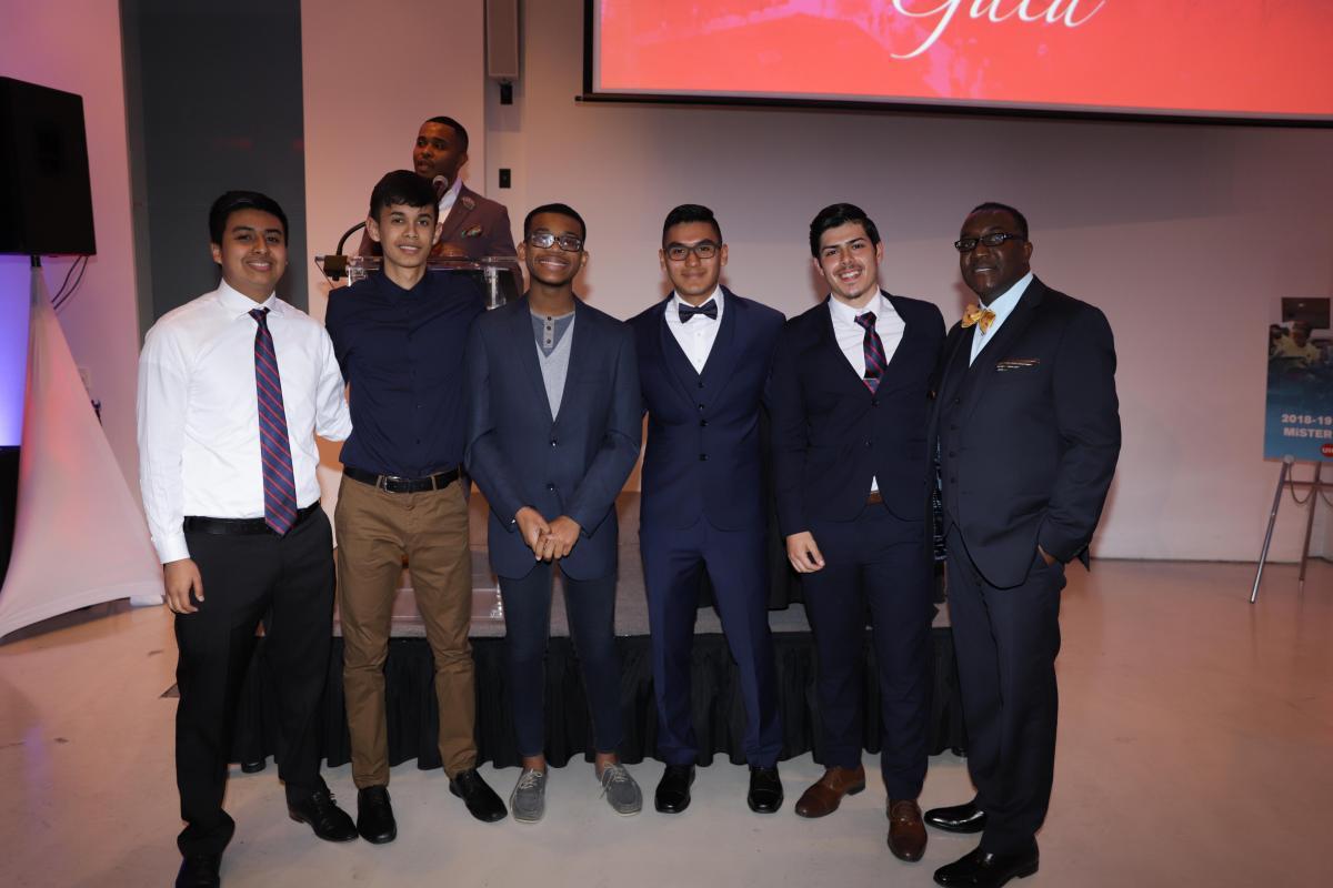 Group at the Education Gala