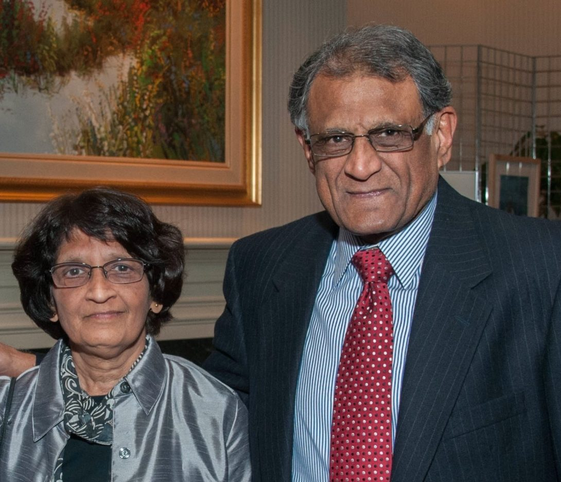 Anand and Asha, BS '79, Panwalker