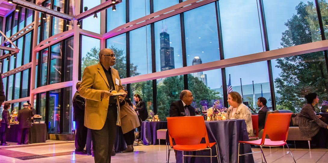 2019 UIC Alumni Award Celebration reception
