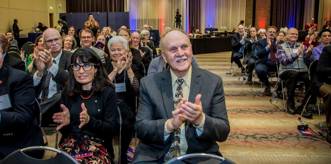 Audience at the 2019 UIC Alumni Award Celebration