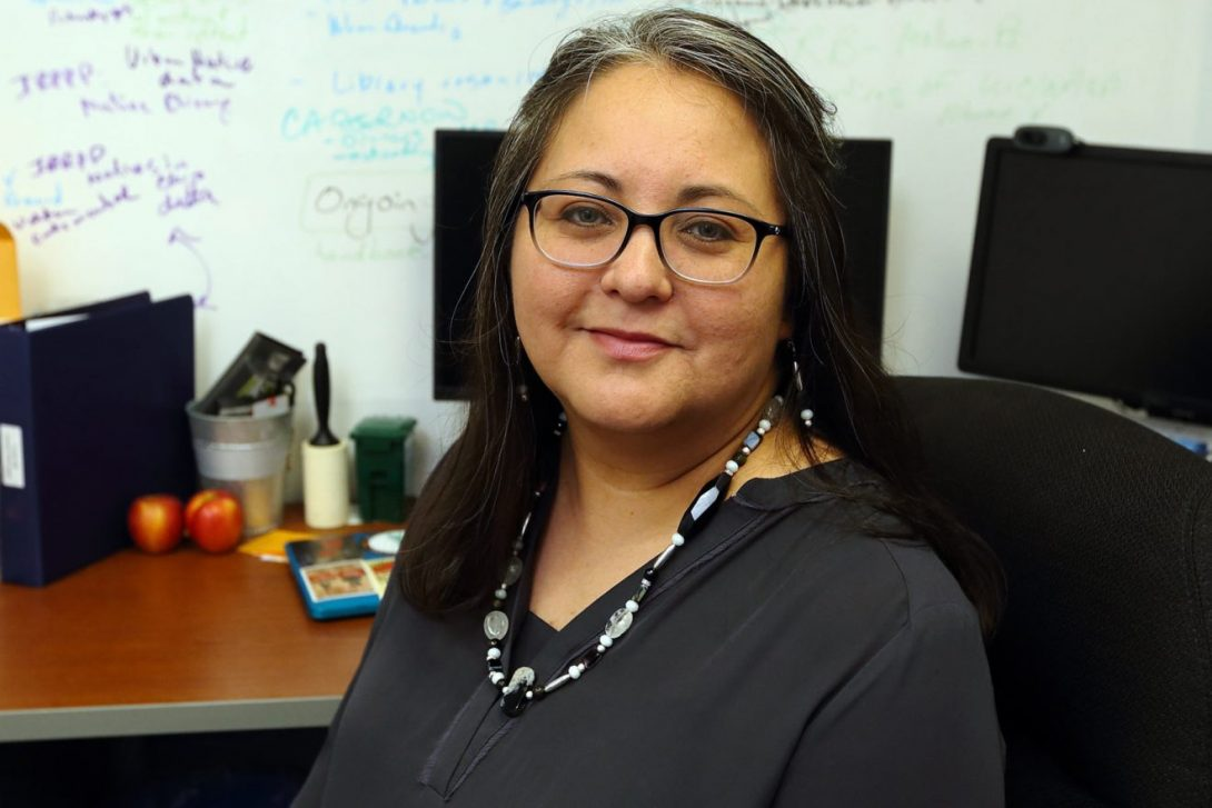 Cynthia Soto, director of UIC's Native American Support Program