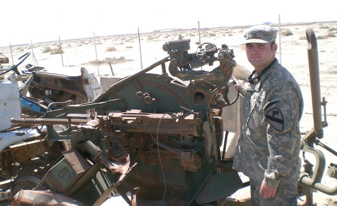 Veteran Sam Parrillo BS '18