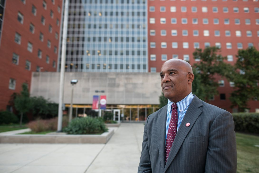 Wayne Giles, Dean of the School of Public Health