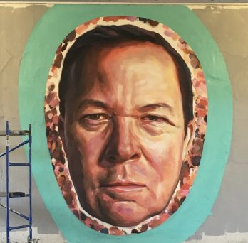Portrait of Jim Duignan by artist Jeff Zimmerman