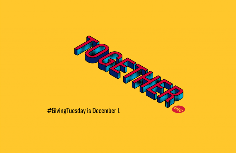 The word Together and Giving Tuesday is December 1