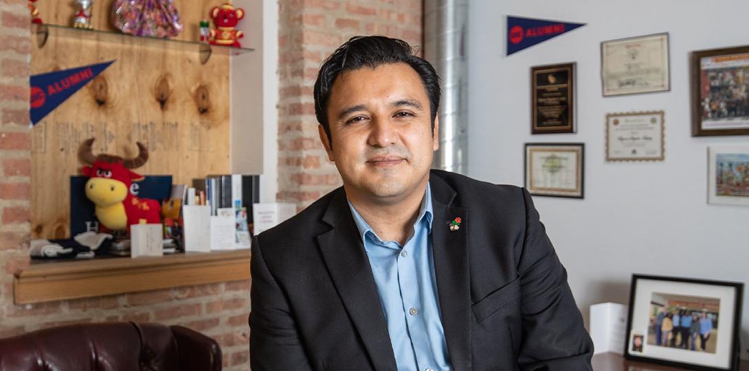 Byron Sigcho-Lopez MA'10